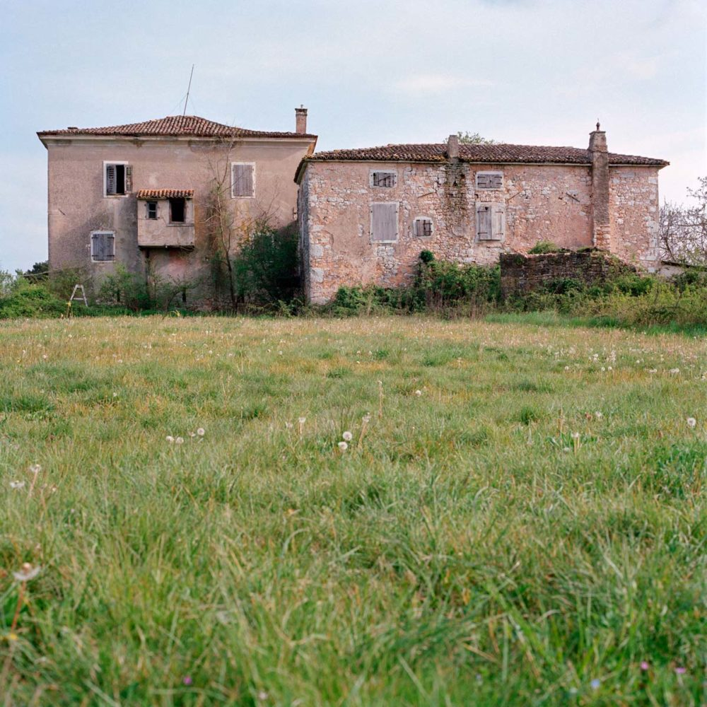 Croatia, Višnjan. The house of the family of the husband of Livia, one of my grandmother's sister